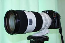 α ズームレンズ 70-200mm F2.8 G SAL70200G 三脚取り付け