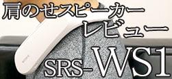 SRS-WS1 レビュー「包まれるような音と振動体験!」